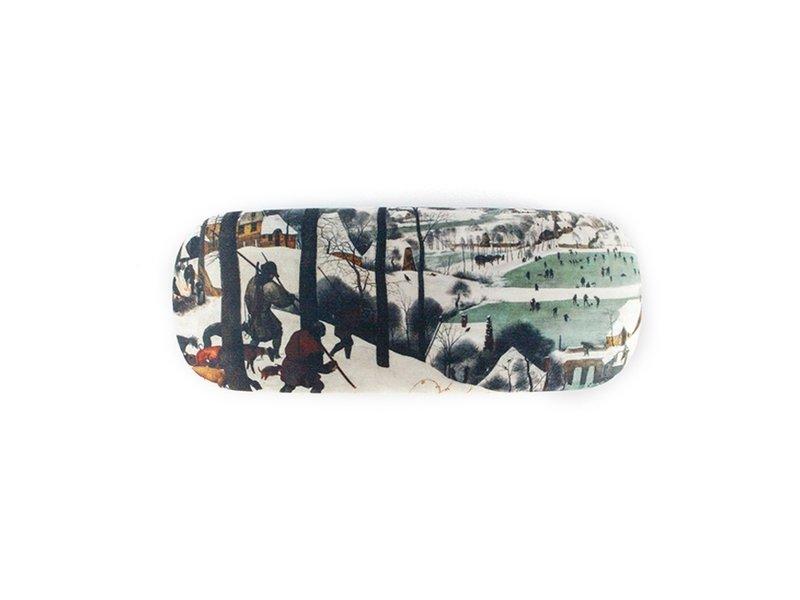 Brillenetui, Jäger im Schnee, Bruegel