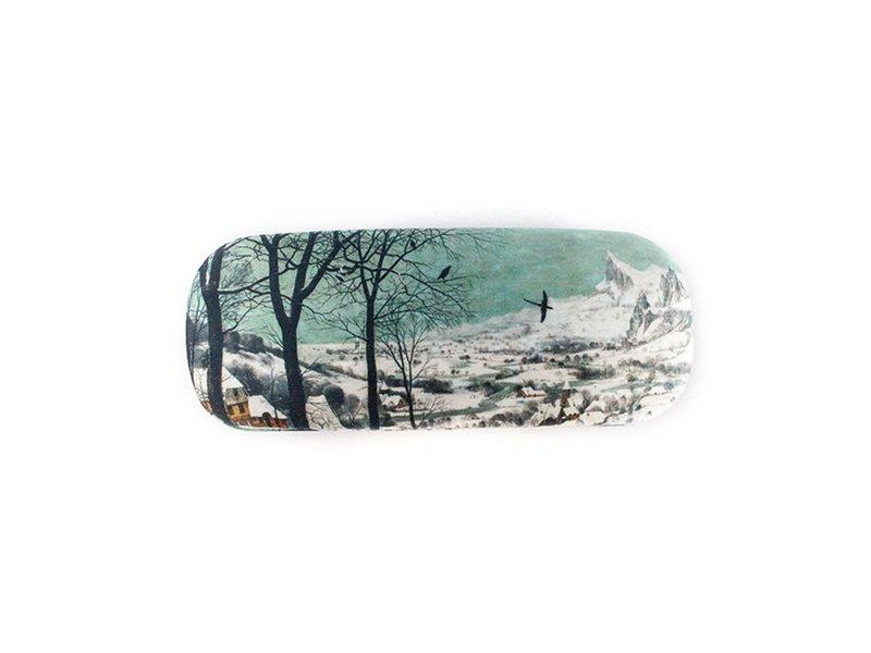 Brillenkoker, Jagers in de sneeuw , Bruegel