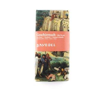 Geschirrtuch, Turmbau zu Babel, Bruegel