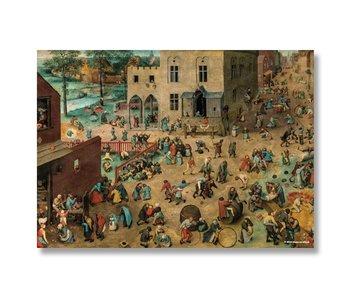 Affiche, 50x70, Bruegel, jeux pour enfants