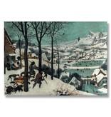 Poster, 50x70, Bruegel, Jagers in de sneeuw