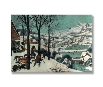 Poster, 50x70, Bruegel, Hunters in the snow