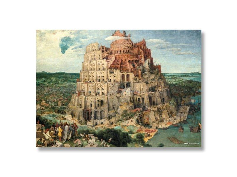 Poster, 50x70, Bruegel, toren van Babel