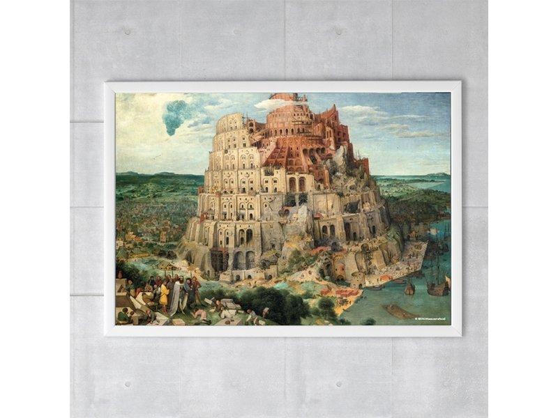 Cartel, 50x70, Bruegel, Torre de Babel