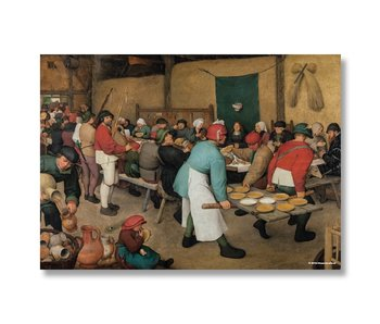 Poster, 50x70, Bruegel, Farmers wedding