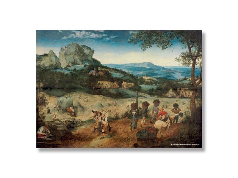Affiche, 50x70, Bruegel, fenaison