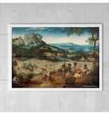 Poster, 50x70, Bruegel, Het hooien