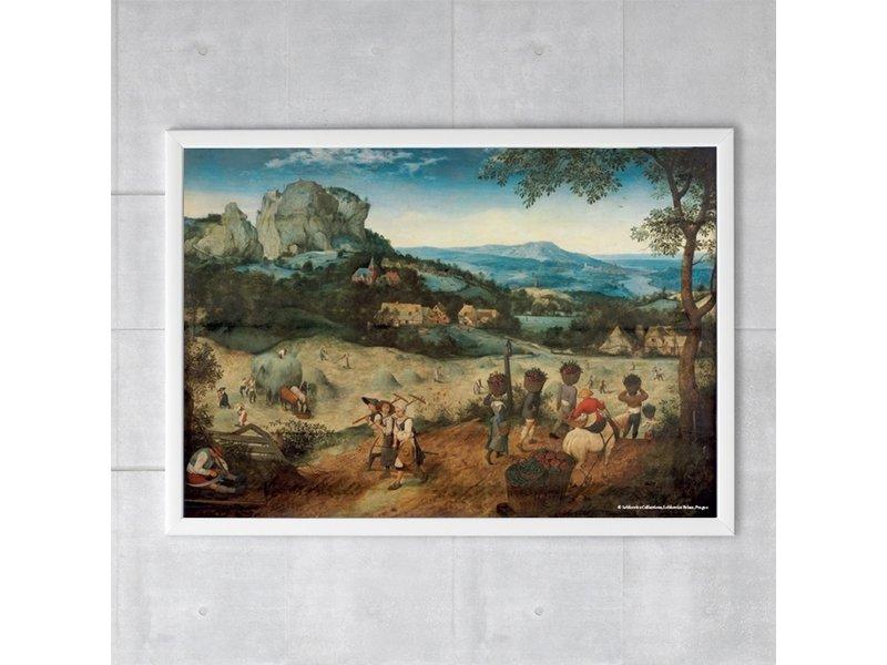 Plakat, 50x70, Bruegel, Heuernte
