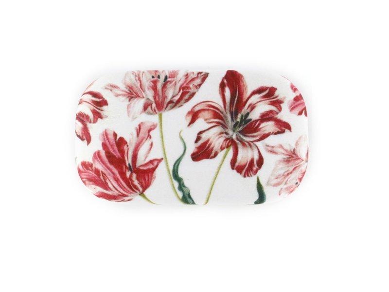 Rouge à lèvres / lentille / boîte de voyage, tulipes, Merian