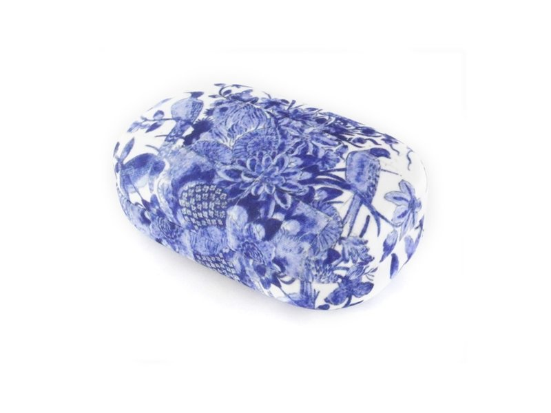 Rouge à lèvres / lentille / boîte de voyage, Oiseaux bleus de Delft