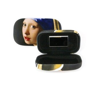 Lipstick / lens / travel box, Girl with the Pearl Earrings, VErmeer
