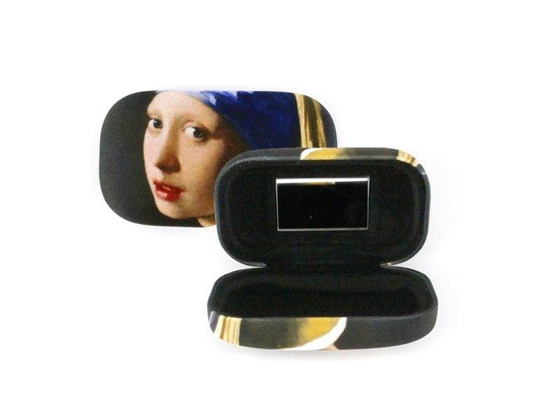 Lápiz labial /Lápiz labial /lente /caja de viaje Chica con un arete de perla, Vermeer