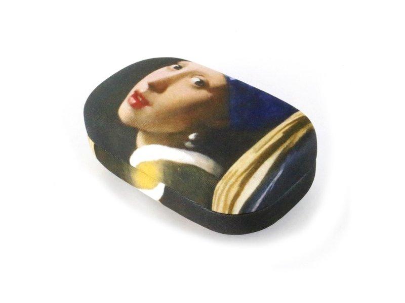 Lippenstift / Linse / Reisebox, Mädchen mit einem Perlenohrring, Vermeer