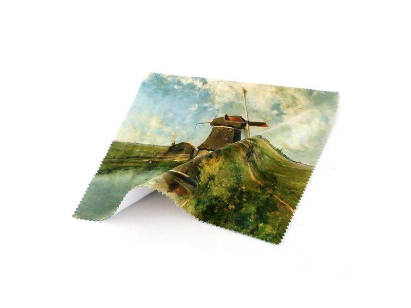 Lens cloth, 15 x 15 cm, Mill, Gabriël