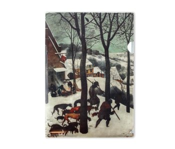 File Sheet W, Bruegel, Hunters in the snow