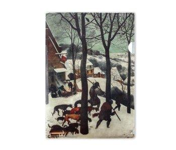Funda portadocumentos A4, Cazadores en la nieve, Brueghel