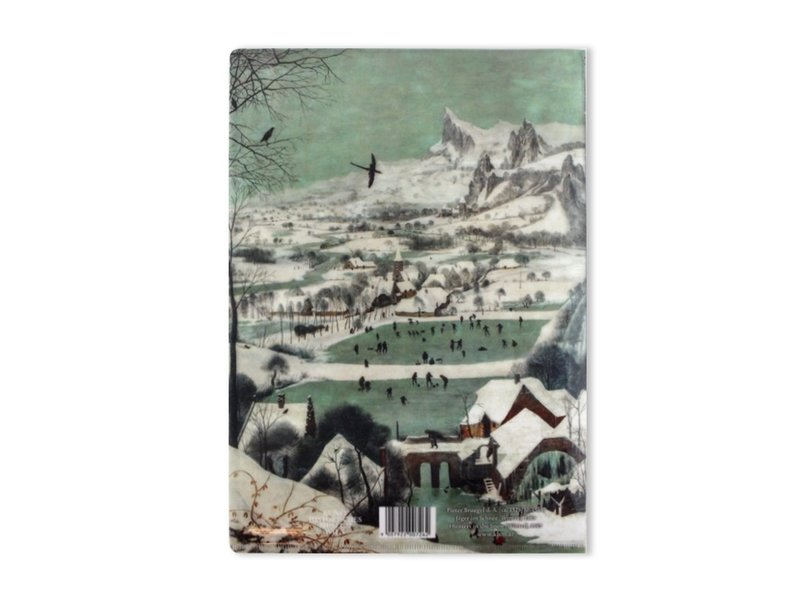 L-Ordner A4-Format, , Jäger im Schnee, Bruegel