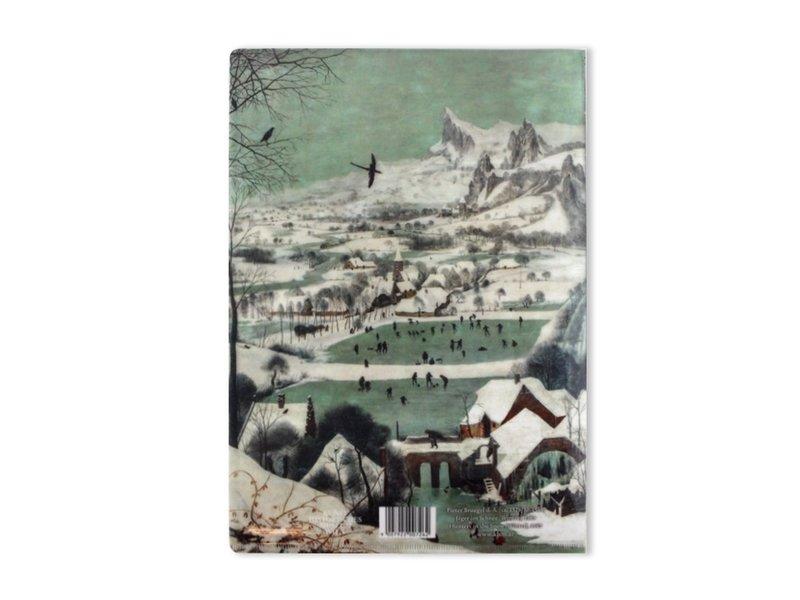 Porte-documents A4, Chasseurs dans la neige, Bruegel