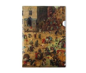 L-Ordner A4-Format, Kinderspiele, Bruegel