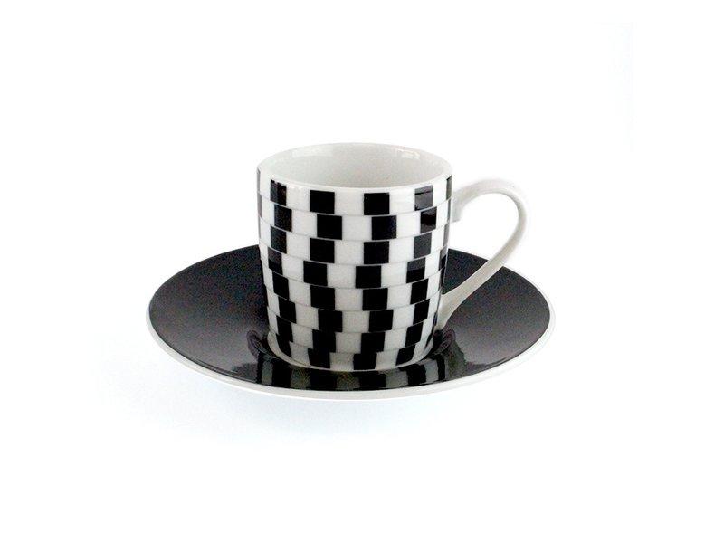 Espresso kopjes Optical, Set van 4