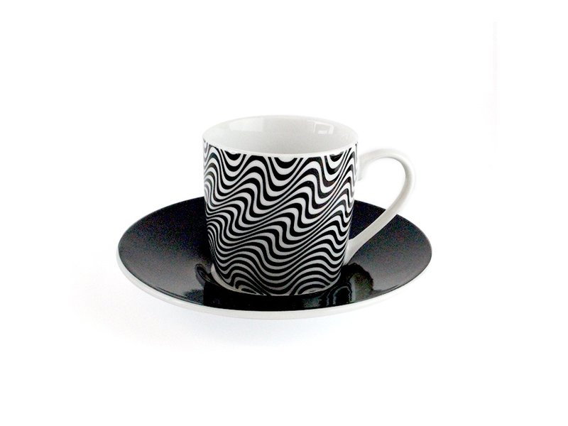 Espressotassen Optisch, 4er-Set