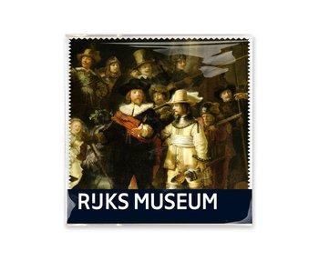 Essui-verres, 15x15, Rembrandt, La Veille de nuit