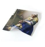 Lens cloth, The Milkmaid, Vermeer