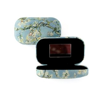 Rouge à lèvres / lentille / boîte de voyage,Fleur d'amandier, Van Gogh