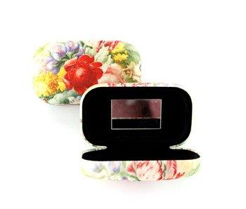 Lipstick-lens-reis doosje, Bloemstilleven, Henstenburgh