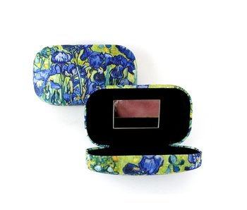 Lápiz labial /Lápiz labial /lente /caja de viaje, Lirios Van Gogh