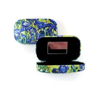 Lipstick-lens-reis doosje, Irissen, Van Gogh