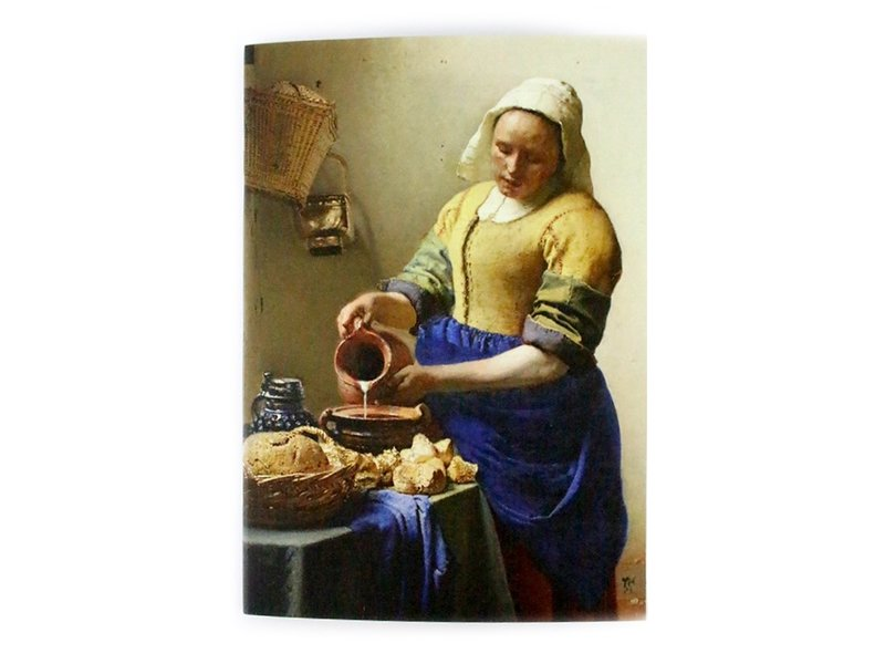 Exercise book W, A5, Vermeer, The Milkmaid