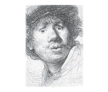 Exercise book , A5, Rembrandt, Curious Face