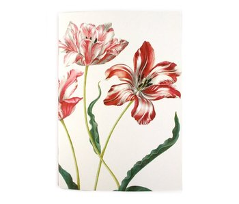 Exercise book , A5, Merian, Three Tulips
