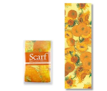 Scarf, Sunflowers Van Gogh
