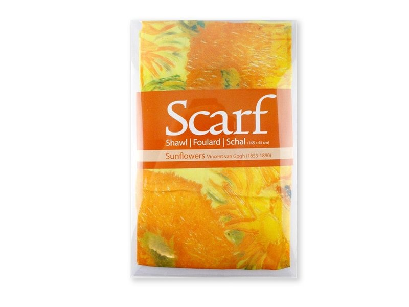 Sjaal, Zonnebloemen Van Gogh
