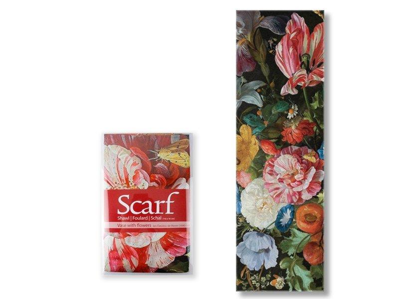 Sjaal, De Heem, Vaas met bloemen
