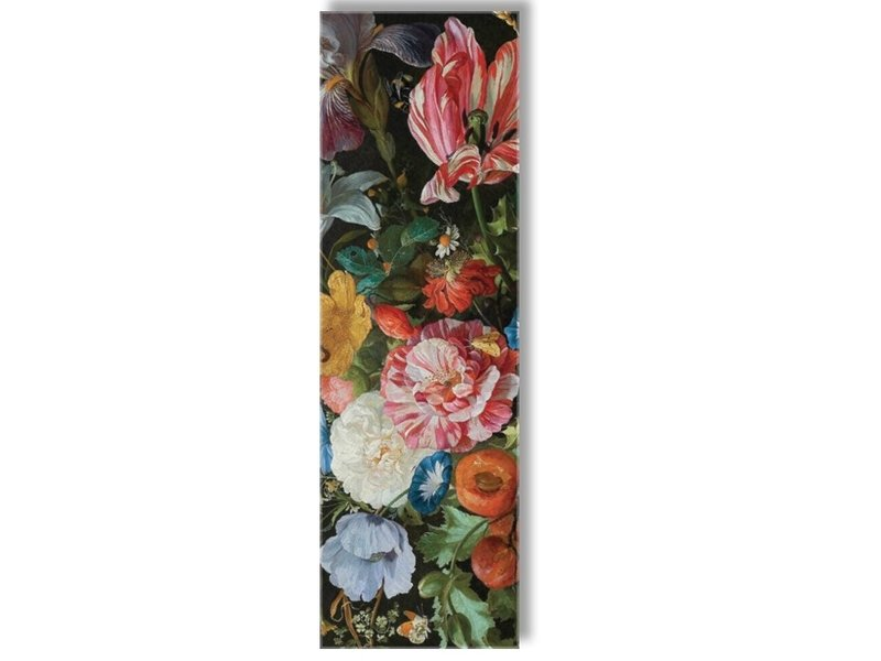 Echarpe, De Heem, Vase avec fleurs