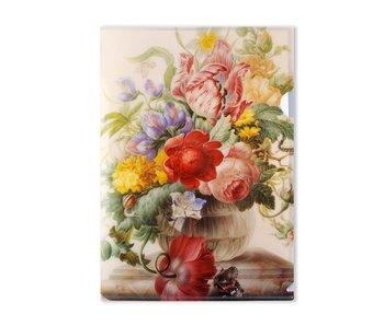 File Sheet, Henstenburgh, Flowers