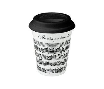 Mokken, Coffee-to-go, Vivaldi, Libretto wit -Trav.