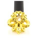 Zwart potlood met Konings kroon-kruis goud
