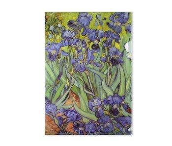 Funda portadocumentos, A4, Van Gogh Lirios