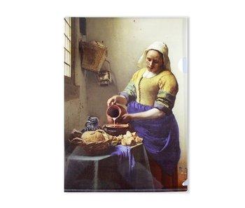 Funda portadocumentos,  A4, Vermeer, Lechera