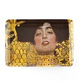 Mini-Tablett, 21 x 14 cm, Klimt, Judith