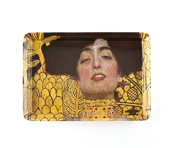 Mini-Tablett, 21 x 14 cm, Klimt, Judith
