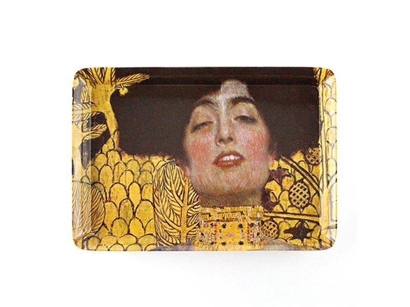 Mini dienblad , 21 x 14 cm,  Klimt, Judith