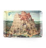 Plateau de service, Mini 21 x 14 cm, Bruegel, Tour de Babel