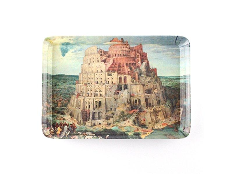Dienblad, Mini 21 x 14 cm, Bruegel, Toren van Babel