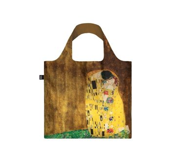 Opvouwbare shopper, Klimt, de kus