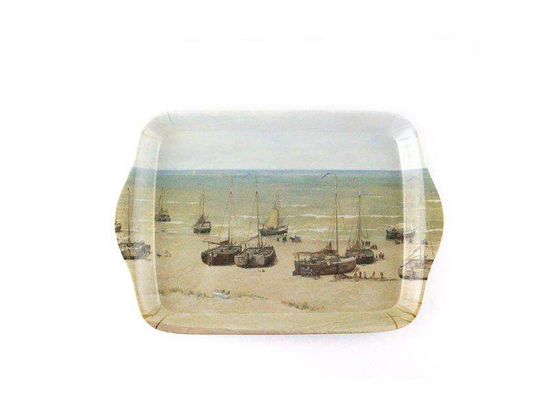 Mini dienblad , 21 x 14 cm Panorama Mesdag, Scheveningen